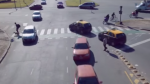 YouTube: 'Rush Hour', el video que te mantendrá en suspenso ante un posible accidente de tránsito - Noticias de accidente de transito