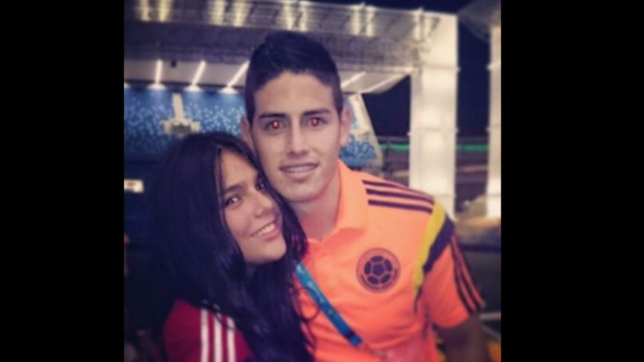 La hermana de James Rodriguez.¿le das?