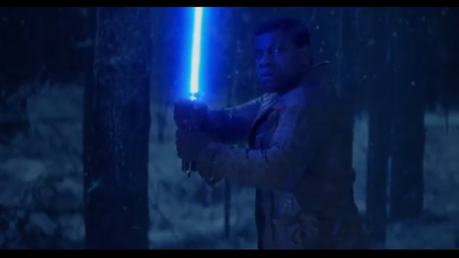 Star Wars 7: ¿Finn es un Jedi? [FOTOS Y VIDEO]