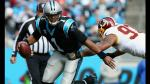 NFL: Carolina Panthers derrotaron 44 a 16 a los Washington Redskins - Noticias de cam newton