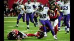 NFL: Minnesota Vikings derrotaron 20 a 10 a los Atlanta Falcons - Noticias de adrian peterson