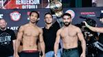 Bellator: Intenso pesaje entre Benson Henderson y Patricio 'Pitbull' [FOTOS Y VIDEO] - Noticias de angel walker
