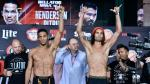Bellator: Intenso pesaje entre Benson Henderson y Patricio 'Pitbull' [FOTOS Y VIDEO] - Noticias de cody walker