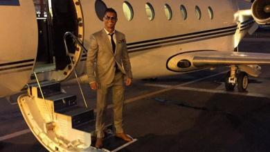 Cristiano Ronaldo: su avión sufrió un accidente en Barcelona [VIDEO]